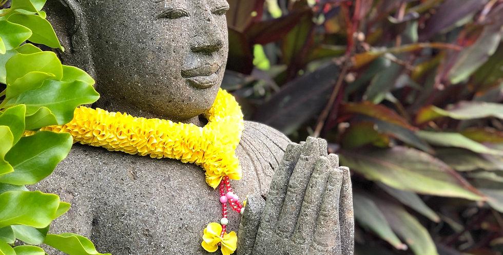 Stone Prayer Buddha