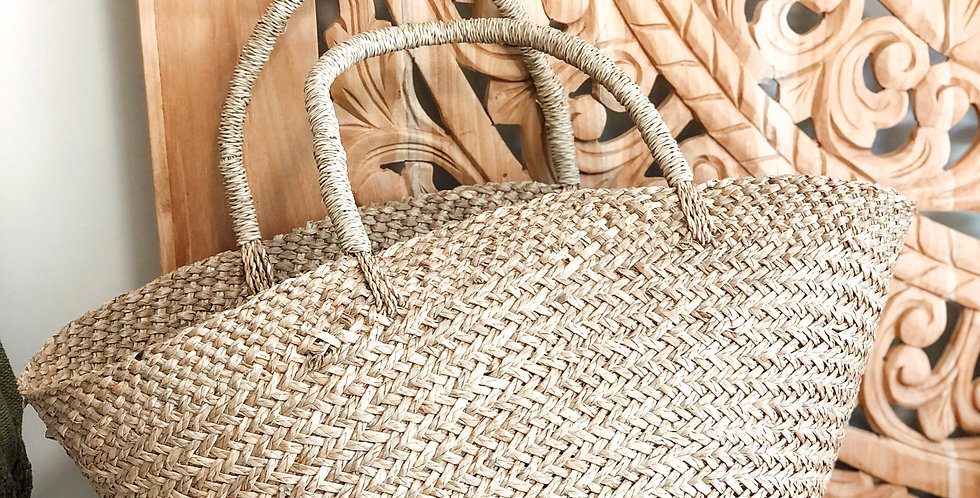Seagrass Market Bag