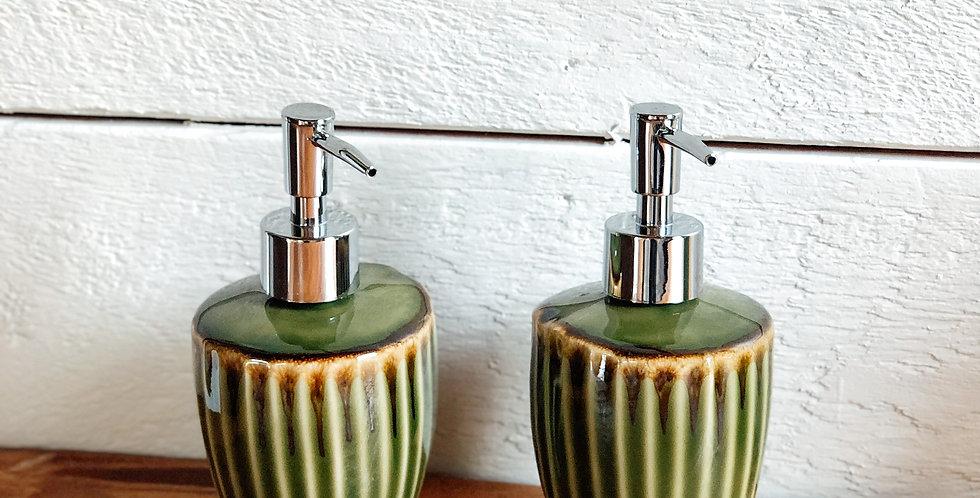 Stripe Soap Dispenser