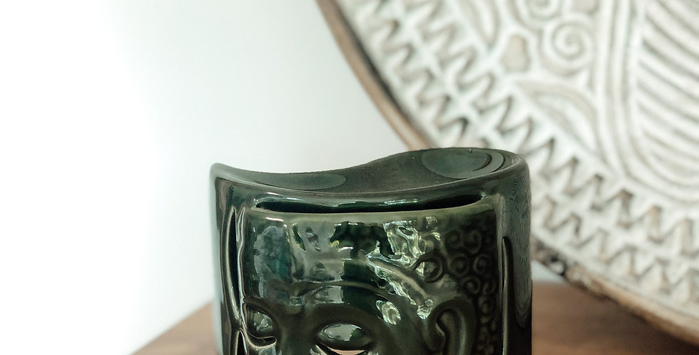 Ceramic Oil Burner - Green