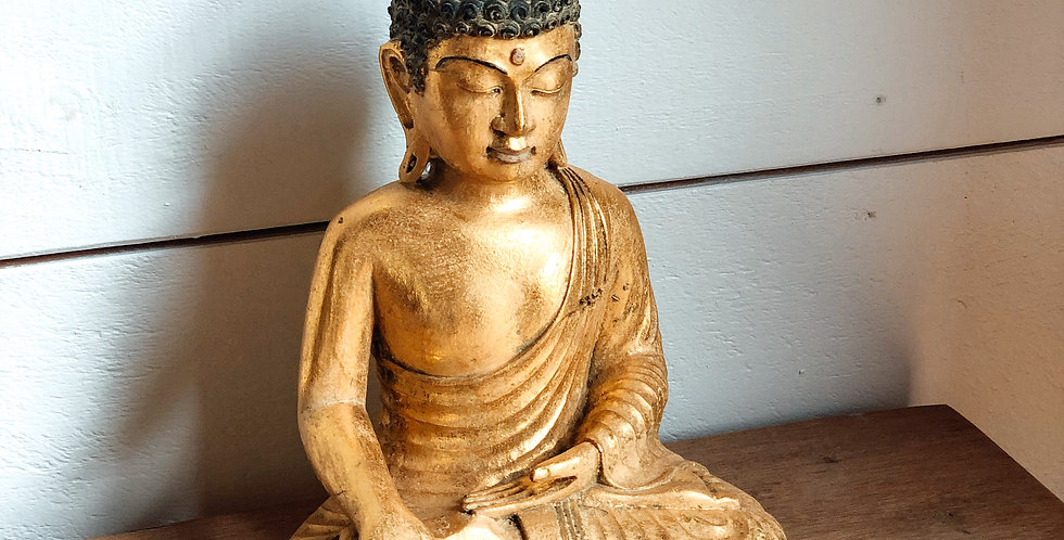 Earth Witness Resin Buddha