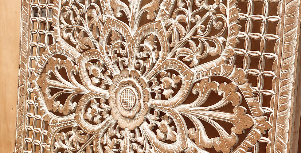 Carved Wall Panel - Natural