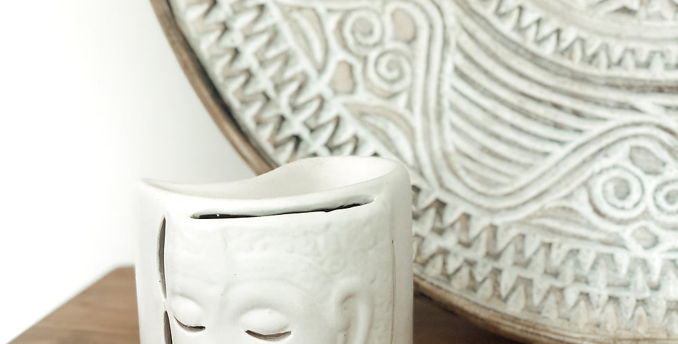 Ceramic Oil Burner -White
