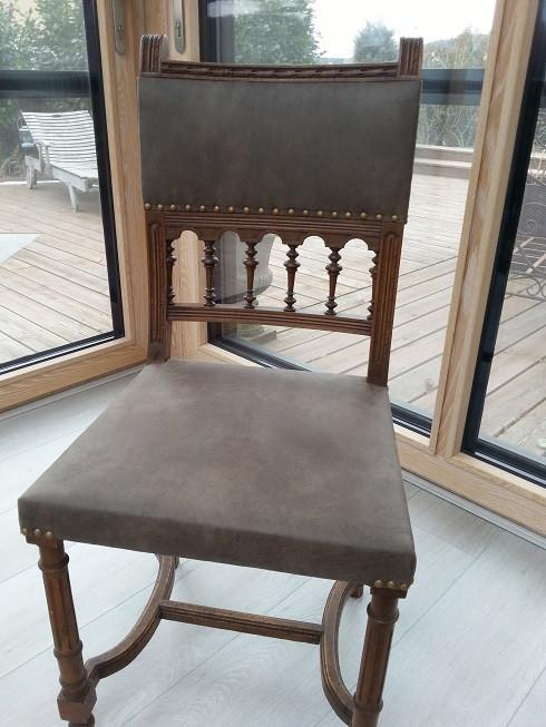chaise néo-renaissance