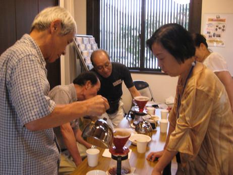 第2回 コーヒー教室開催