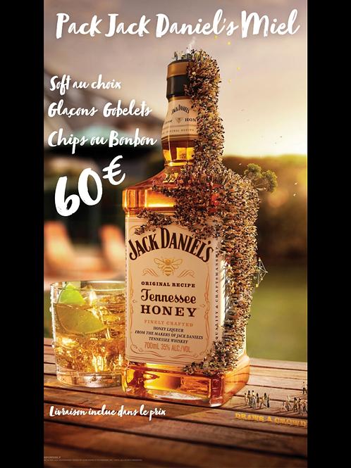 Pack Apéro Jack Daniel's Miel