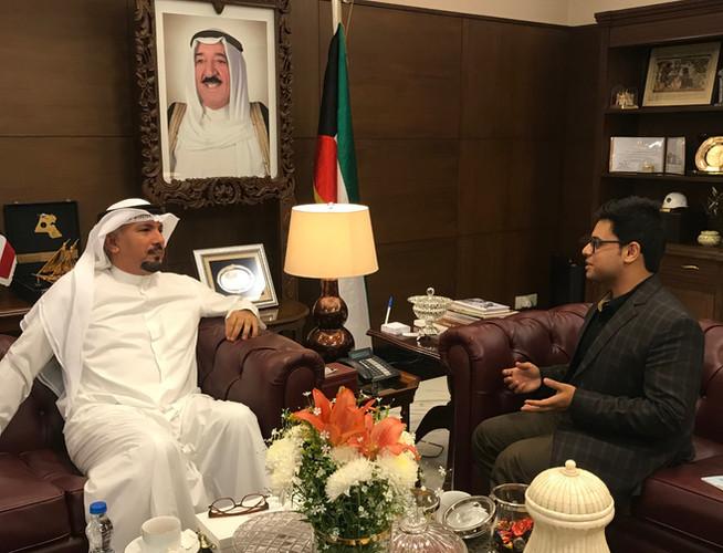 Kuwait Amb. to India