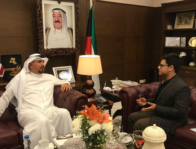 Kuwait Amb. to India