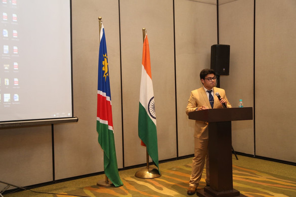 A step towards India-Namibia Relations