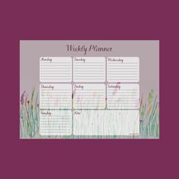 Wildflower Weekly Planner