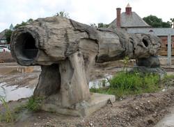 Elephant Feeder Log