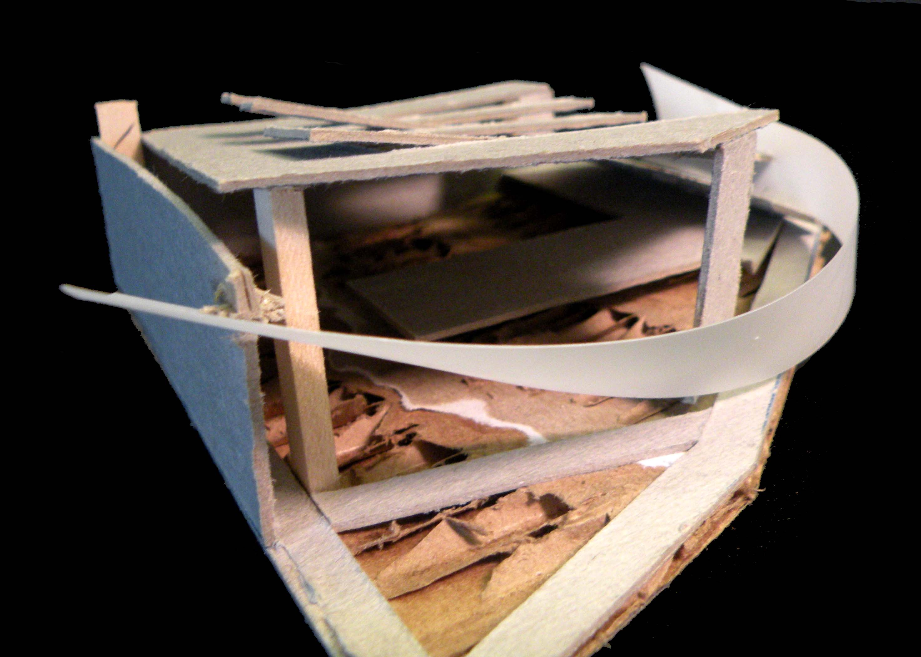 Study Model- East Facade Circulation