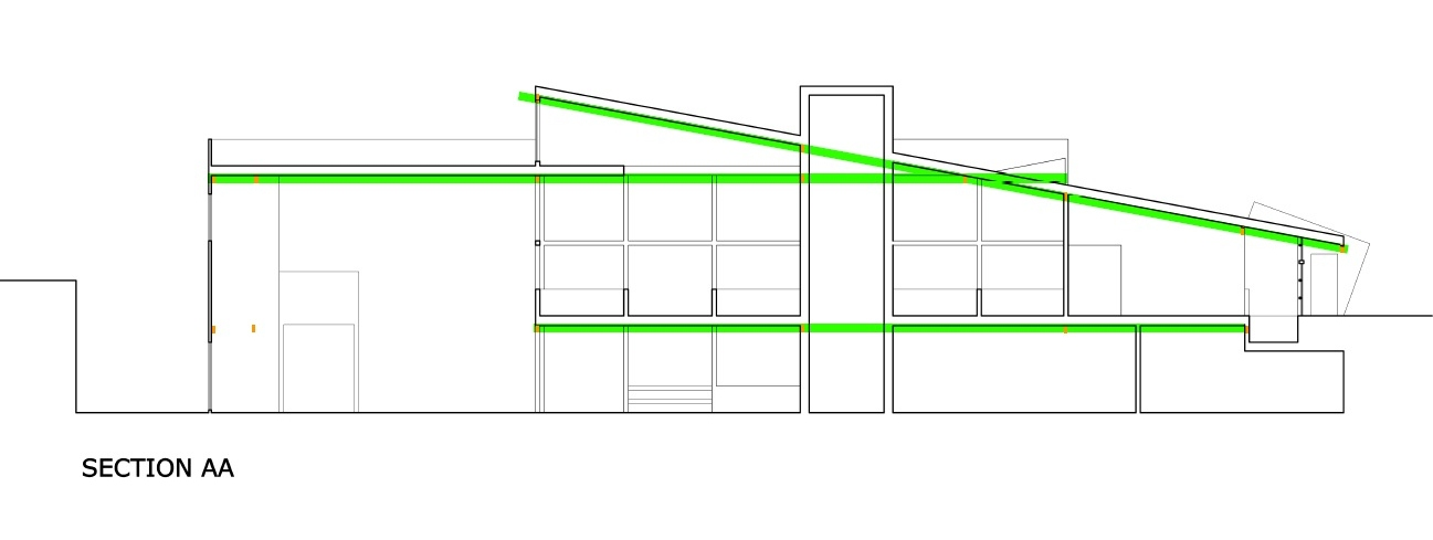Structure Diagram Section AA