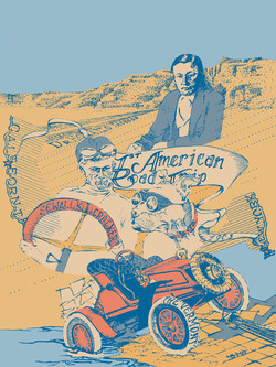 The First American Road Trip