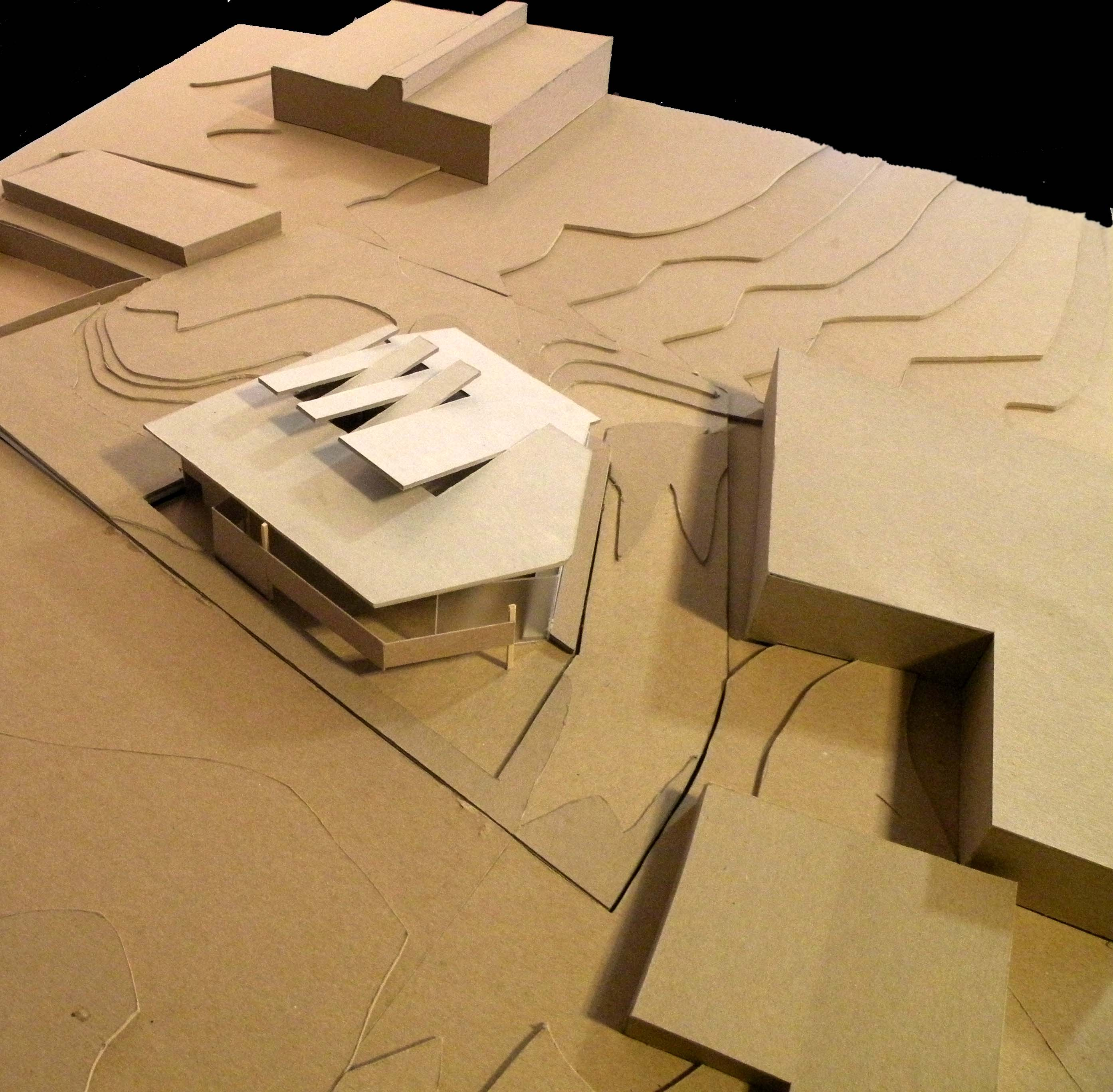 Building Model in Site