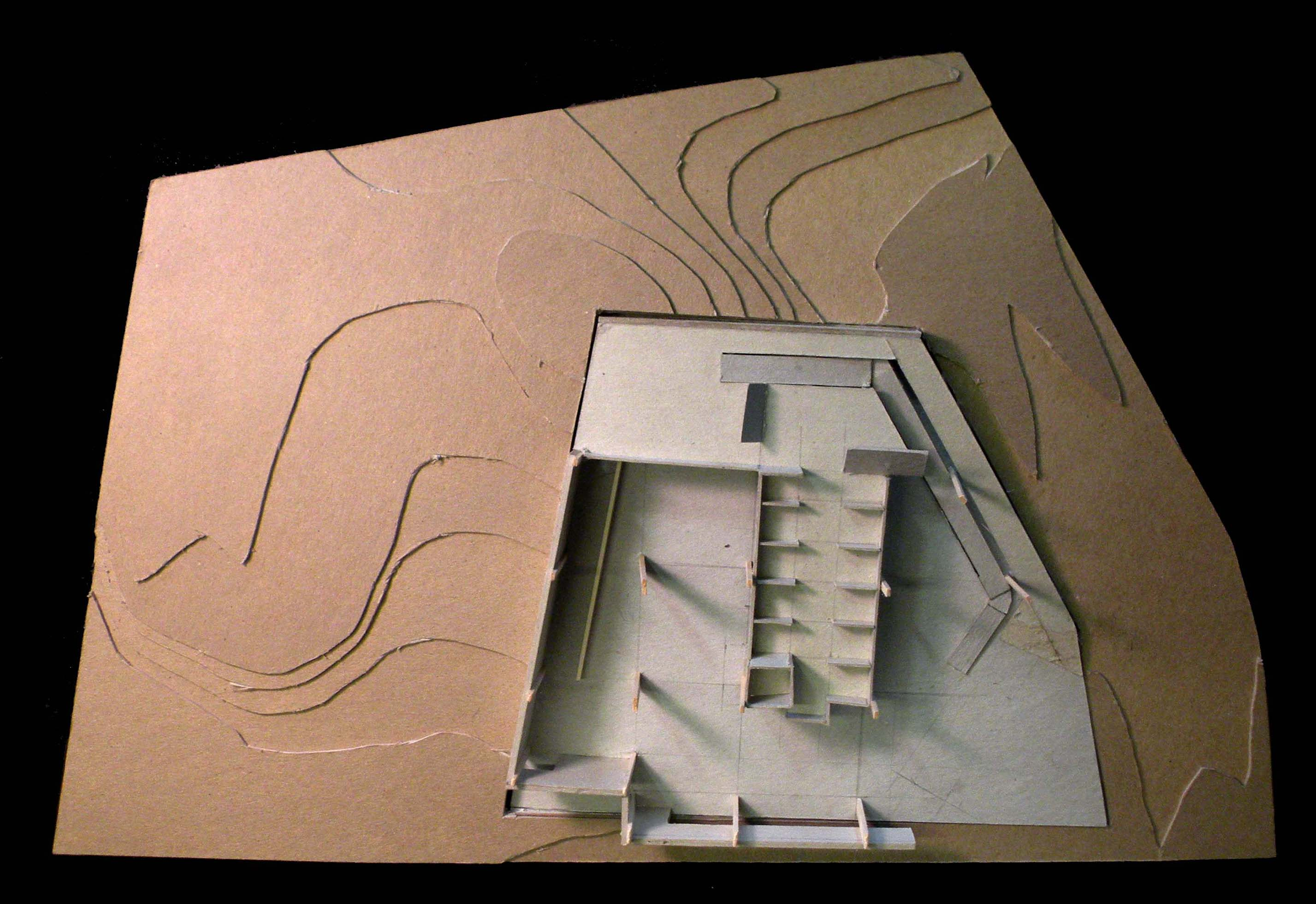 Spatial Model in Topography