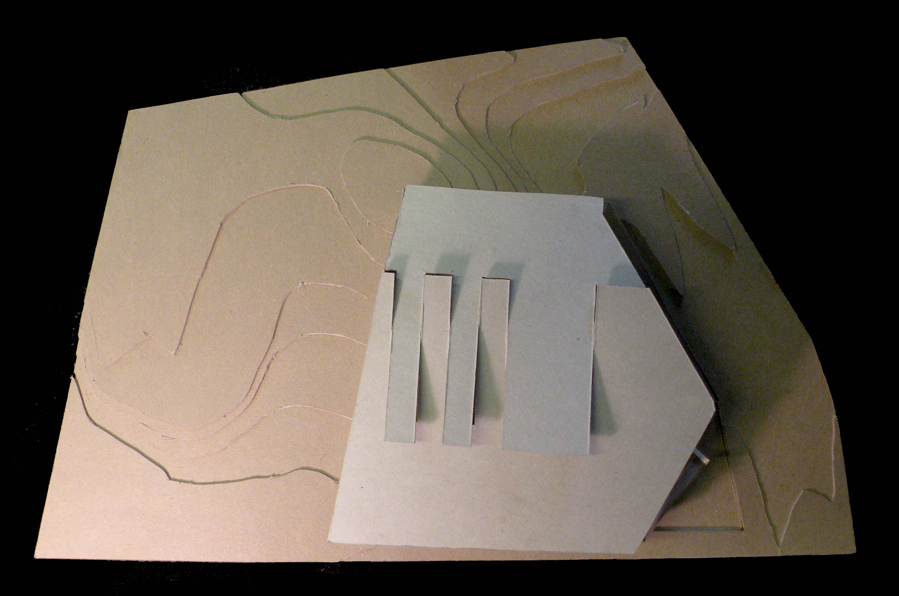 Mass Model- In Topography