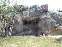 Hooved Animal Entrance