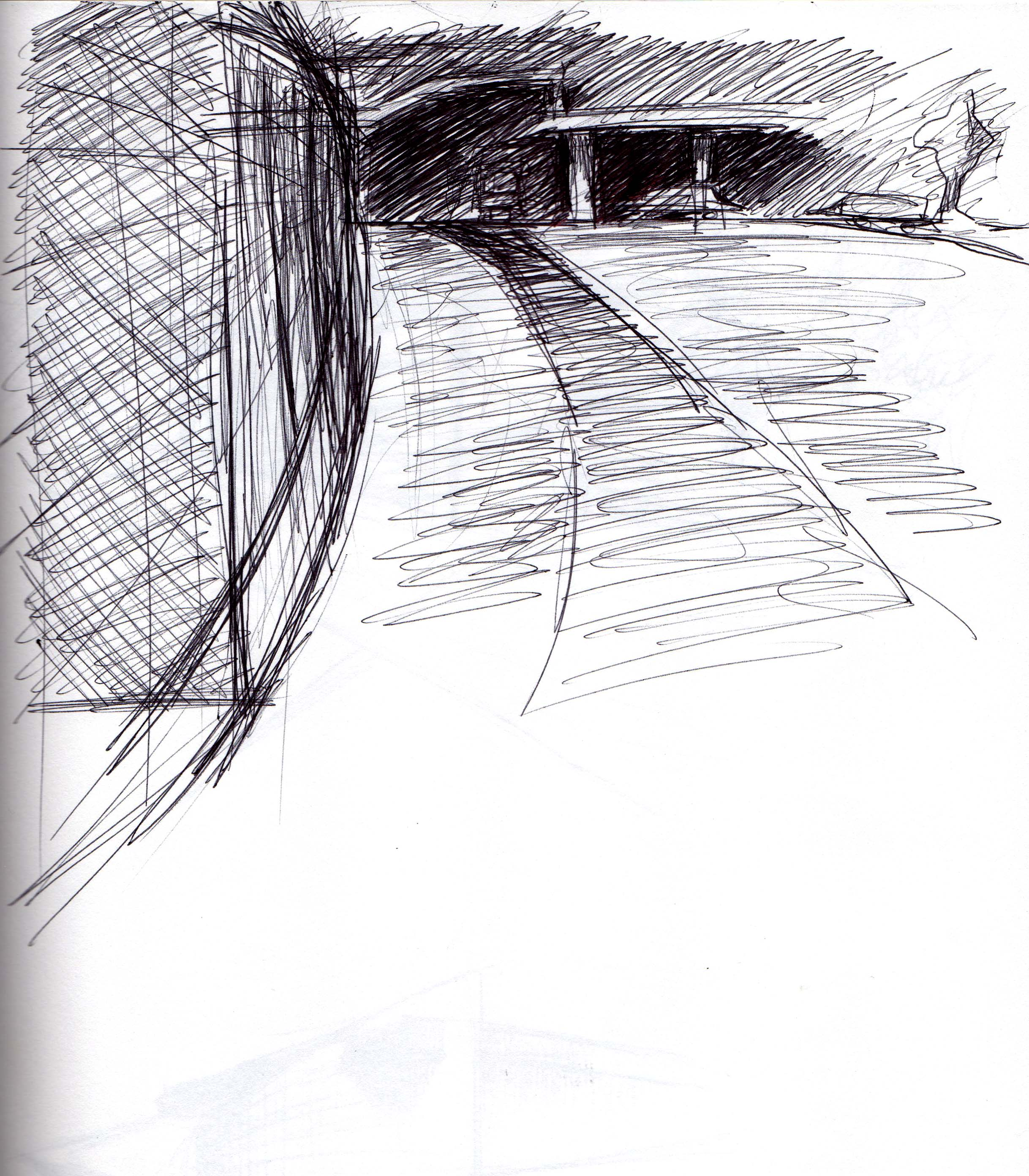 Exterior Circulation Sketch