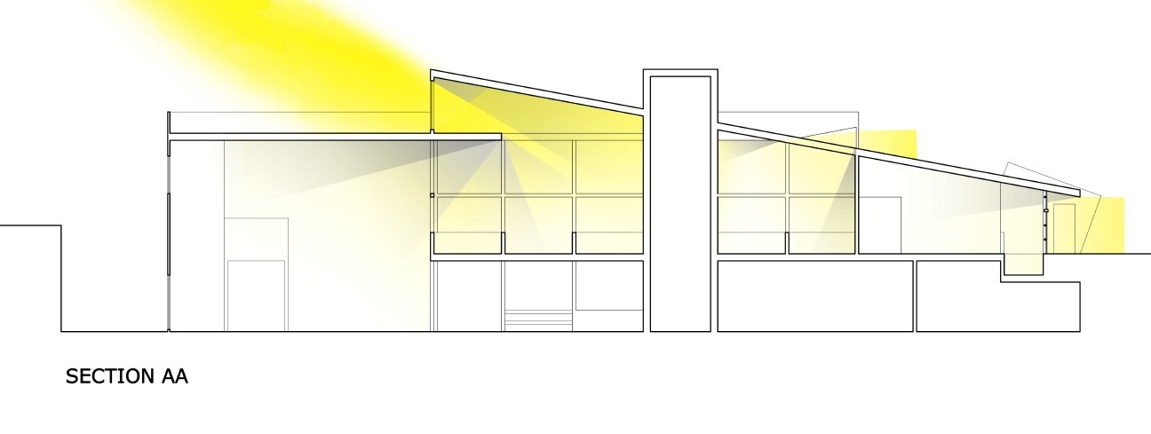 Light Diagram- Section AA