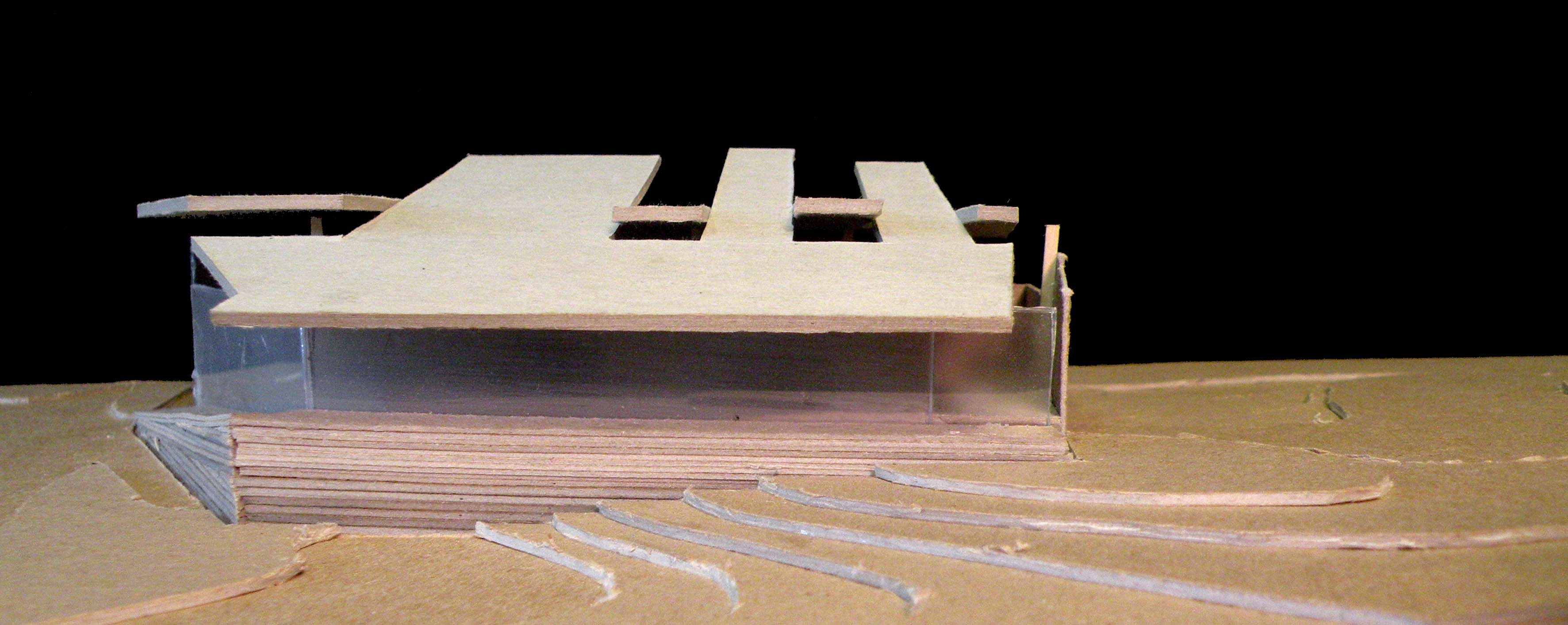 Mass Model- Entrance Facade