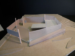Mass Model- View from East