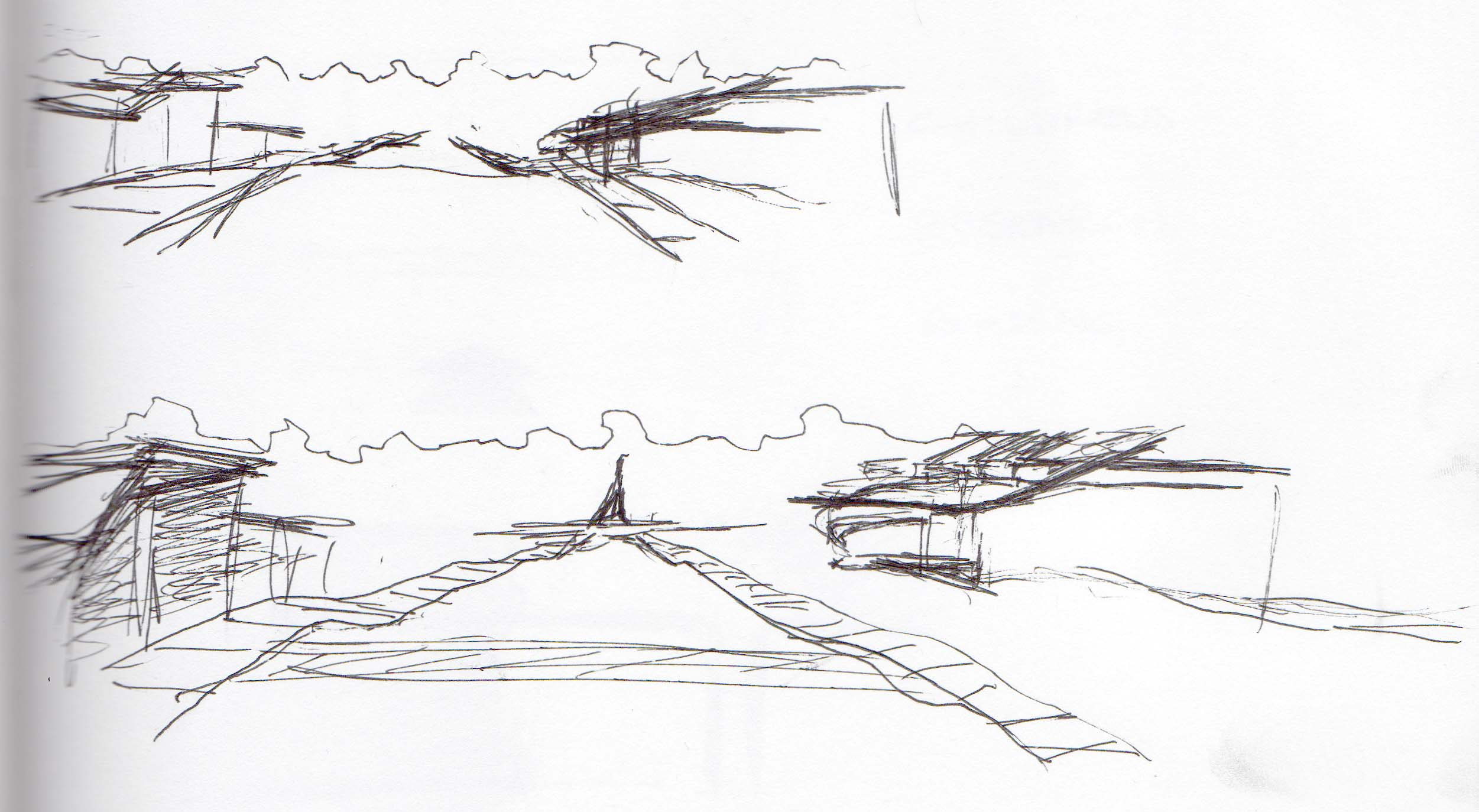 Site Sketch- View from Road