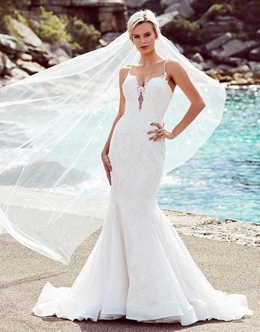 Emanuella-Kent from Peter Trends Bridal Australia