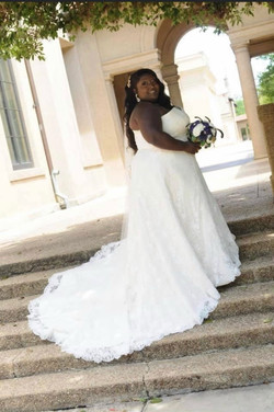 Ashley in Peter Trends Bridal