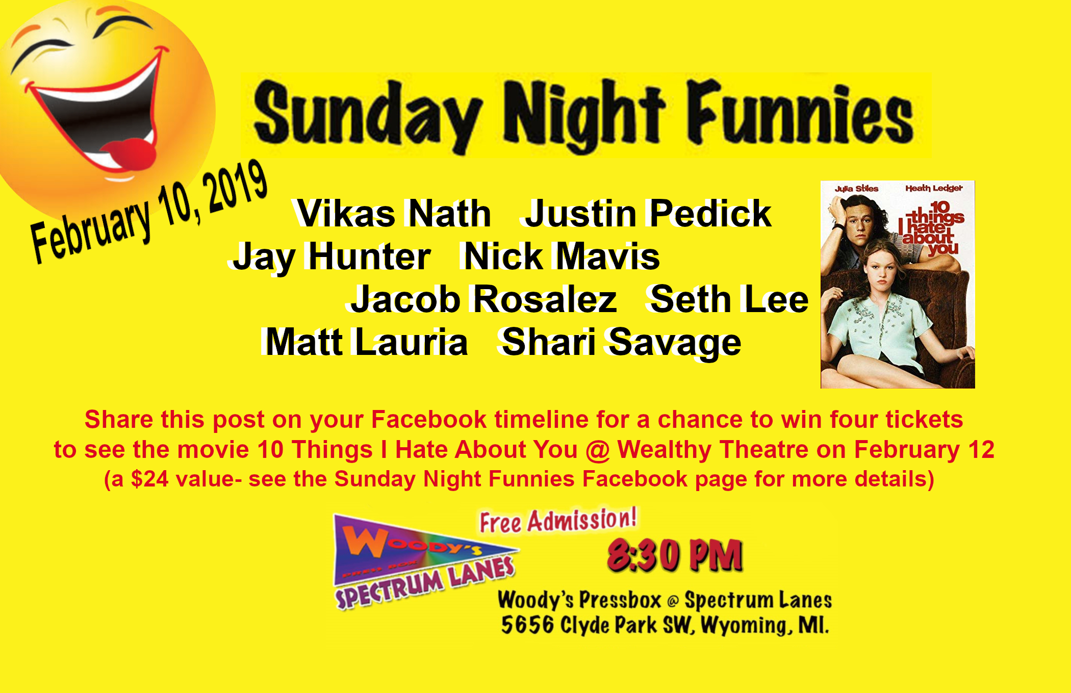 Sunday Night Funnies