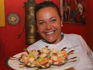Chef Grace, da Praia de Guaibim, entre os 7 melhores do Brasil.