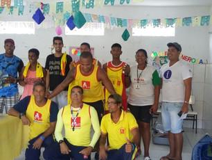 Salva vidas cairuenses são capacitados pelo Salvamar de Salvador