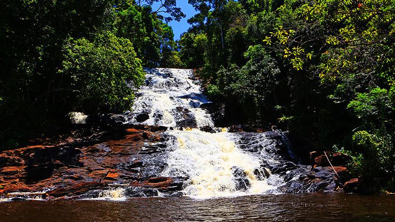 Cachoeira da Água Branca | Foto: Agência Andrade
