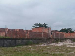 Construção da nova creche de Cairu avança em ritmo acelerado