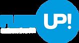 Logo FleetUp automotive PR BLUE PNG_whit