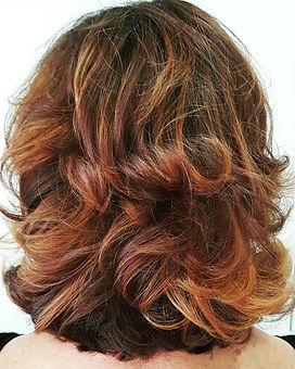 hair contrast