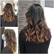 ombre hair brunette