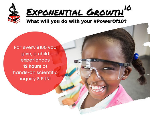 Exponential Growth, Power of 10  Campaig