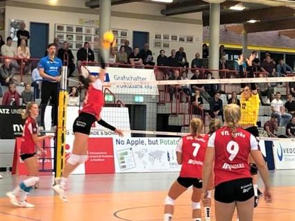 2. Volleyball-Bundesliga: unerwartet deutliche 0:3-Schlappe in Borken
