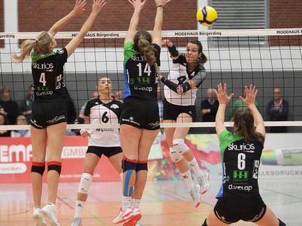 DVV-Pokalspiel: VfL Oythe vs. Skurios Volleys Borken