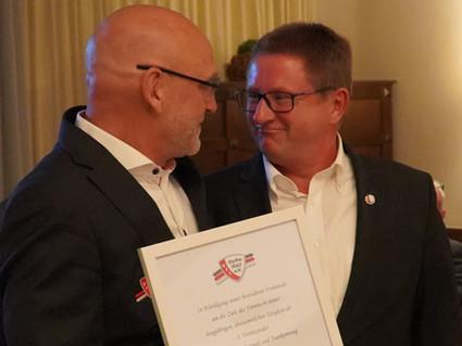 Hauke Anders ist neuer Vorsitzender des VfL Oythe