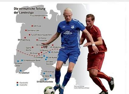 """Landesliga: """"Aufteilung in zwei Gruppen ist sinnvoll"""""""