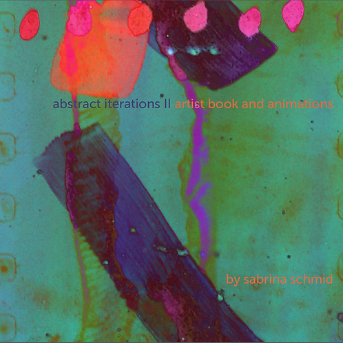 abstract iterations II artist book and animations