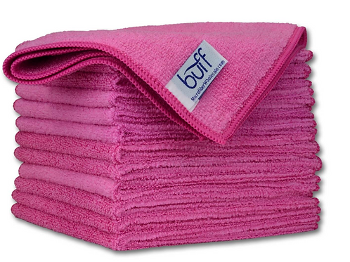 12x12 Multi Surface Cleaning Cloth Pink