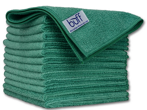 12x12 Multi Surface Cleaning Cloth Green