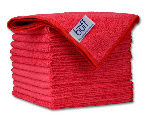 12x12 Multi Surface Cleaning Cloth Red