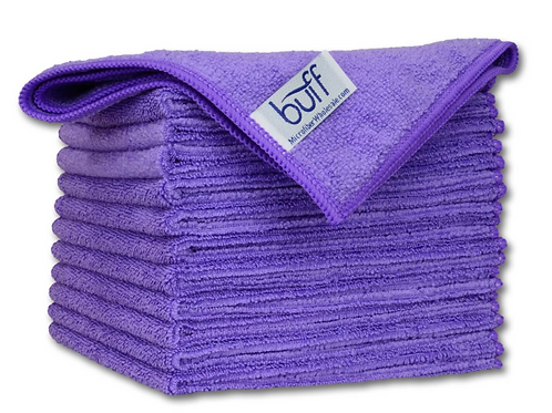 12x12 Multi Surface Cleaning Cloth Purple