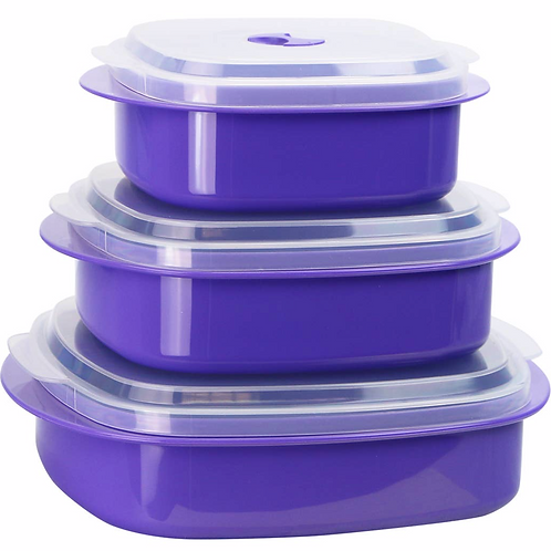 Microwave Cookware/Storage Set