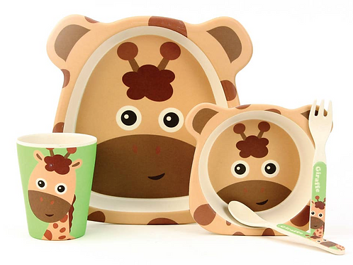 Bamboo Kids' Dinnerware