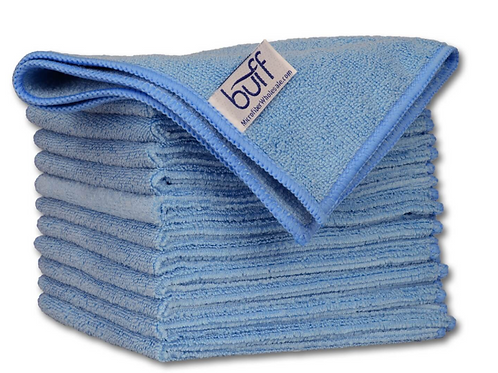 12x12 Multi Surface Cleaning Cloth Blue